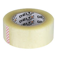 Лента клейкая упаковочная Delta 48мм * 200ярд, 40мкм прозр. D3034-01
