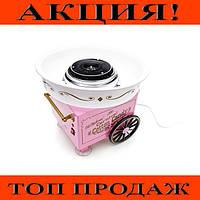 Аппарат для приготовления сахарной ваты маленький Candy Maker (W-24), протестировано