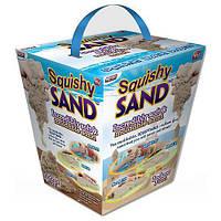 Кинетический песок Squishy Sand + лопатка, ролик, нож! Лучшая цена