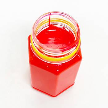 Флуоресцентная паста красная