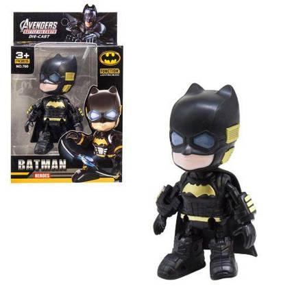 """Уценка. Робот металлический """"Супергерои: Бэтмен"""" - Работает только свет, звука нет. 760у"""