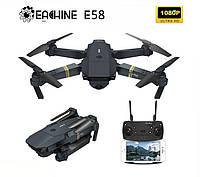 Квадрокоптер Eachine E58 с камерой 1080P и чехлом