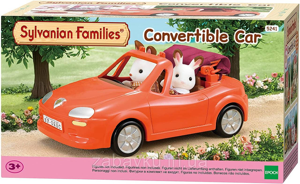 Sylvanian families family car cabriolet Сільваніан фемеліс автомобіль кабриолет сильваниан фэмели