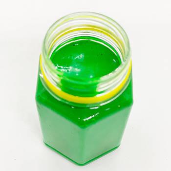 Флуоресцентная паста зеленая