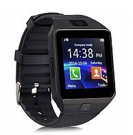 Умные смарт часы Smart Watch DZ09 мужские часы черные! Топ Продаж