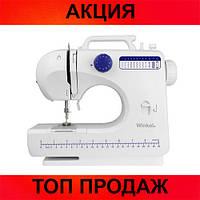Домашняя швейная машинка 506 12в1, протестировано