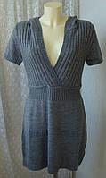 Платье женское теплое акрил мини бренд Outfit р.48-50 3699