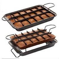 Антипригарная форма для выпекания пирожных Perfect Brownie, для порционной выпечки! Лучшая цена