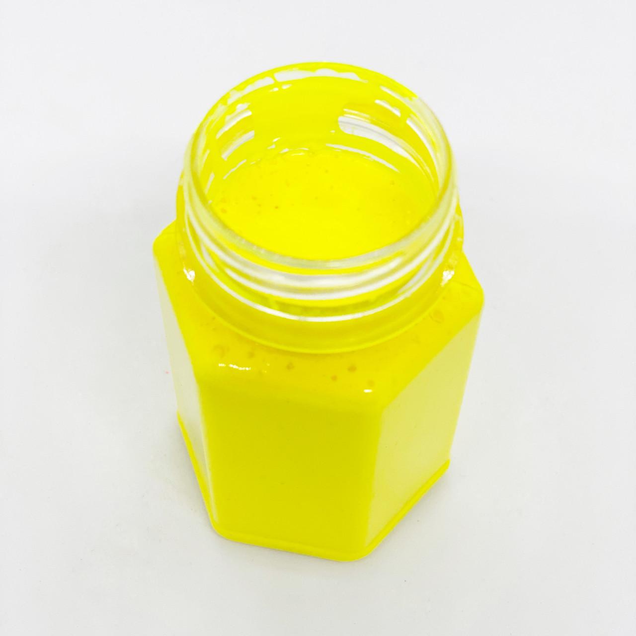 Флуоресцентная паста лимонная