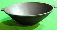 Обработка чугунной посуды по Сталику