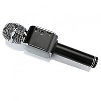 Микрофон-колонка bluetooth WS-1818 Black + Чехол! Качество