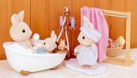 Sylvanian Families Bath and Shower Сільваніан фемеліс набір ванна кімната Сильваниан фэмелис ванная комната, фото 1