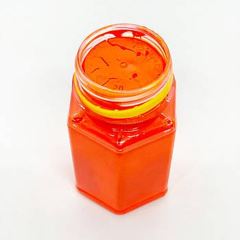 Флуоресцентная паста оранжевая