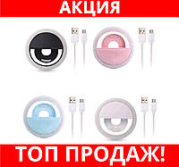 Селфи-лампа Led кольцо на телефон RK12!Хит цена