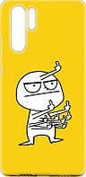 Чехол-накладка TOTO Cartoon Soft Silicone TPU Case для Huawei P30 Pro FK9 Yellow 97101, КОД: 1302345