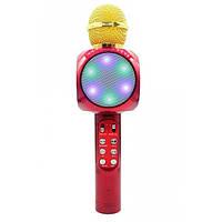 Микрофон-колонка bluetooth WS-1816 Red! Качество