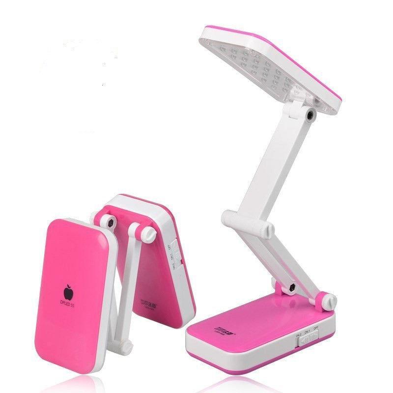 Светодиодная настольная лампа LED-666 TopWell розовая! лучшее качество