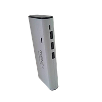 Power Bank MZ 30000 mAh white 3USB+LED фонарь! лучшее качество