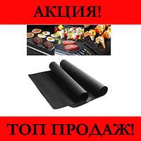 Гриль мат BBQ grill sheet портативний з антипригарним покриттям 33 * 40 см