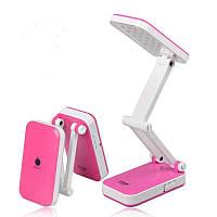 Настільна лампа світлодіодна LED-666 TopWell рожева! Краща ціна
