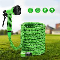 Садовый шланг для полива, Шланг X HOSE 30m, Растягивающийся шланг для воды, Поливочный шланг для дома и дачи! Хит продаж
