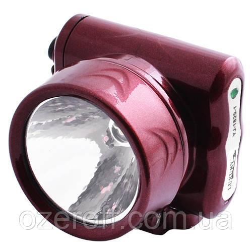 Налобный фонарь аккумуляторный YJ-1829