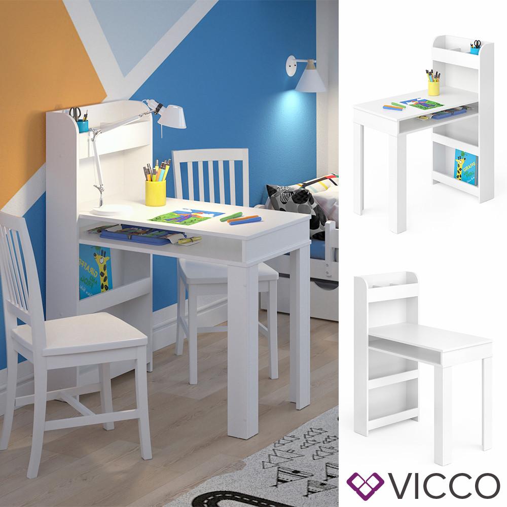 Детский столик для творчества 90х50 Vicco Livia, белый
