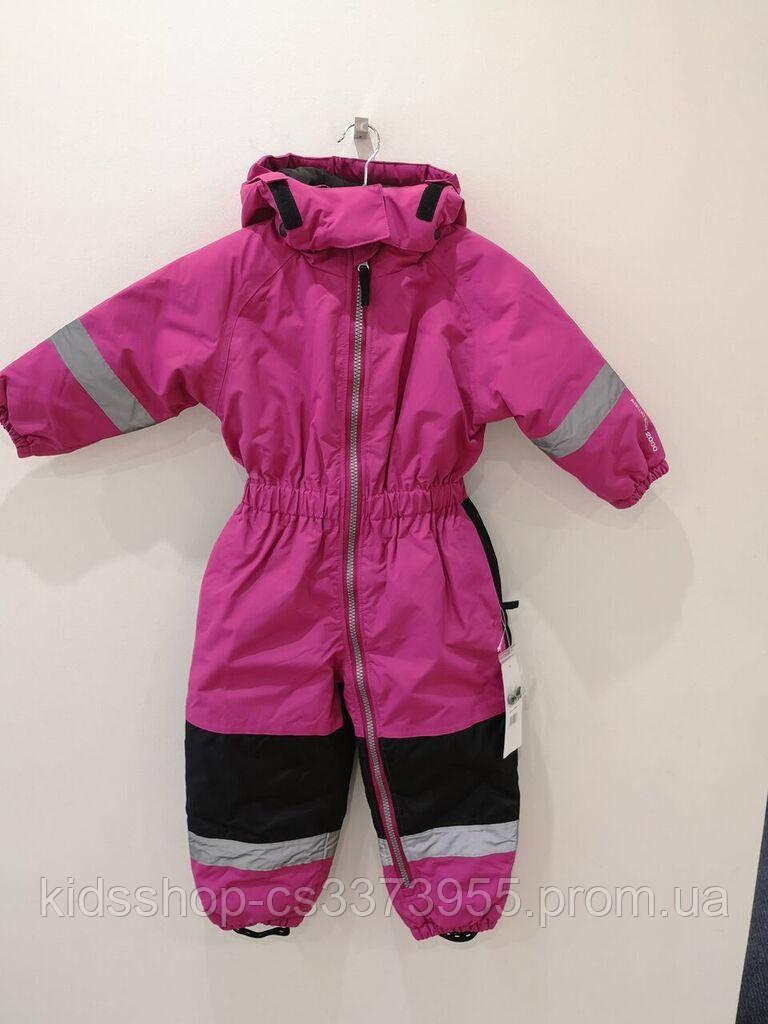 Детский зимний термокомбинезон Alpine розовый