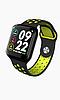 Смарт часы F8 ( F65 ) ( Черный салатовый и белый цвета), фото 3