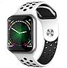 Смарт часы F8 ( F65 ) ( Черный салатовый и белый цвета), фото 5