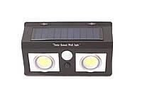 Настенный солнечный светильник с датчиками движения и освещенности. СL-5066B