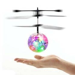 Летаюший диско шар Whirly Ball led