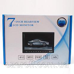 """Монитор для камеры заднего вида 7"""" USB/TF/MP5 / Автомобильный монитор для камеры"""