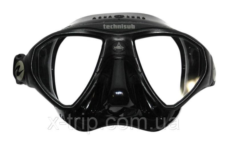 Маска Aqua Lung Mickromask BK BK (черная) для подводной охоты