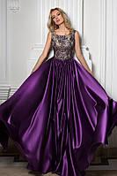 """Фиолетовое вечернее платье """"1047"""""""