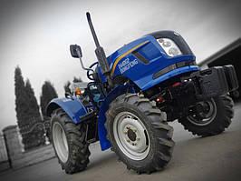 Трактор DongFeng DF 244DG2 Реверс, 25 л.с, 3 цил, 4х4, ГУР, широкие шины, ровный пол, боковой рычаг скоростей