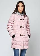 Женская зимняя куртка Silvian Heach XS Светло-розовая 7170515-XS, КОД: 1452463