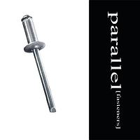 Заклепка вытяжная 3 * 16 алюминий / сталь