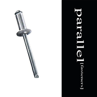 Заклепка вытяжная 5 * 12 алюминий / сталь