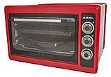 Печь электрическая,духовка,духовой шкаф ,электродуховка,электропечь ASEL Турция красная, фото 4