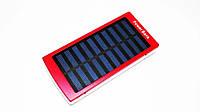 Внешний аккумулятор Power Bank RIAS R-83 c солнечной батареей 30000 mAh Red (4_00088)