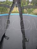 Батут Фанфіт 252см (8ft) діаметр із зовнішнью сіткою та драбинкою ( Фанфит ), фото 7