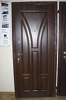 Двері броньовані з дубом