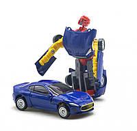 "Машинка трансформер ""Alloy"" (синяя) Kuyu Moxing (H6613B)"