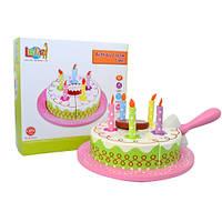 Деревянная игрушка торт T15-016