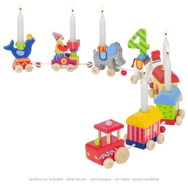 Аксесуари goki Підставка для свічок Паровоз Цирк 60919