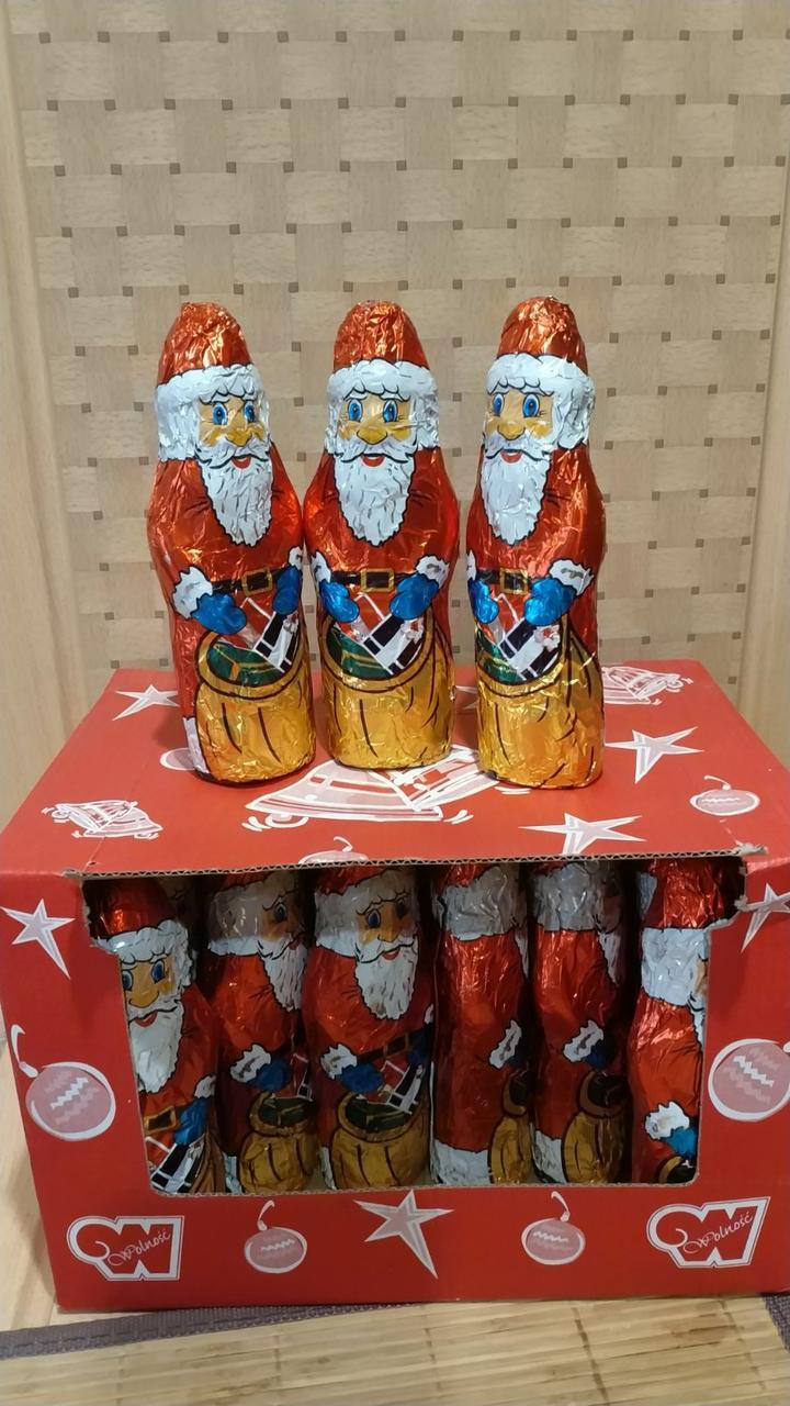 Фигурка шоколадная Дед Мороз 60г (Польша)