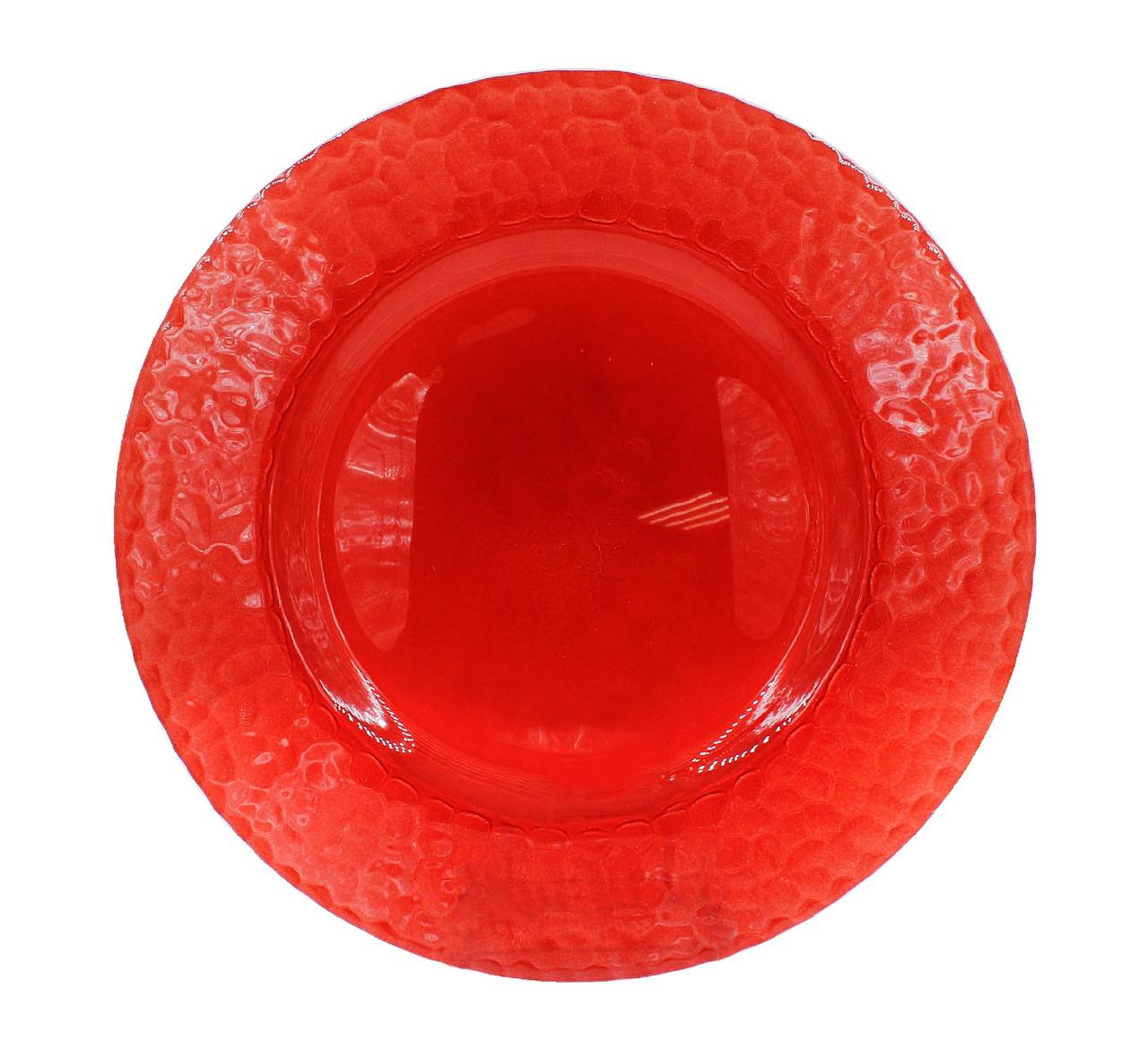 Тарелка подставная 22.5 см Cherry Red Reef R-0008