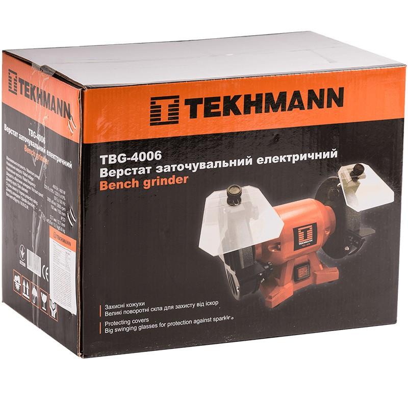 Верстат заточувальний  Tekhmann  TBG-4006