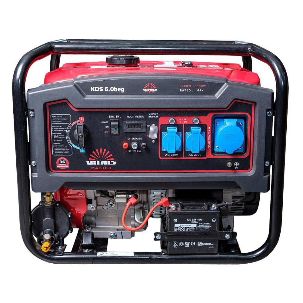 Генератор бензиновый Vitals Master KDS 6.0beg (2019)